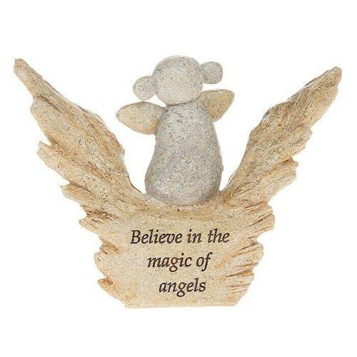 Angel Pebble Art